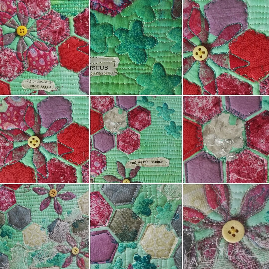 One space now available for Not Grandmother's Flower Garden Workshop – SORRY NOW FULL