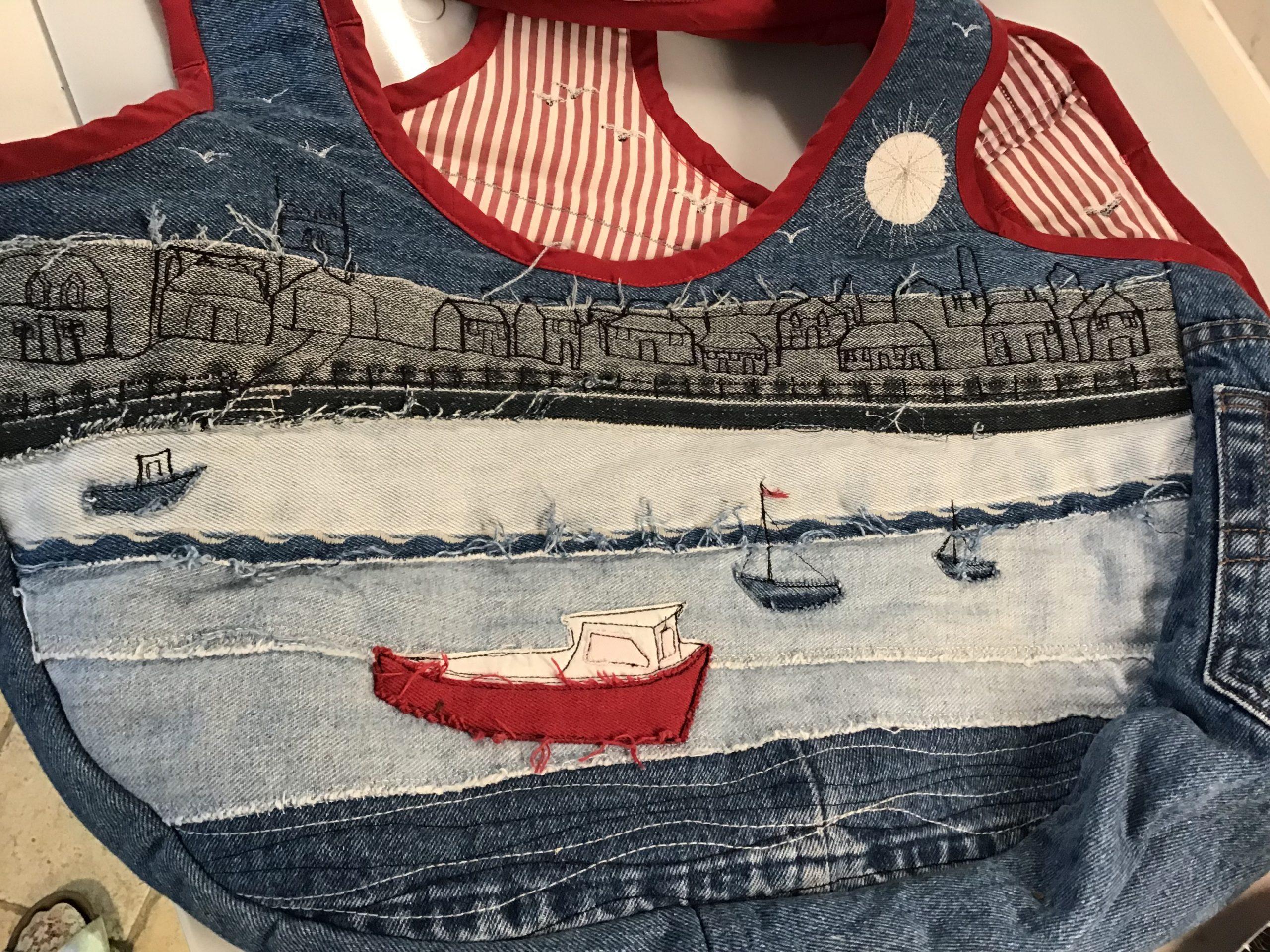 Jeans Beach Bag with Gail Hatfield