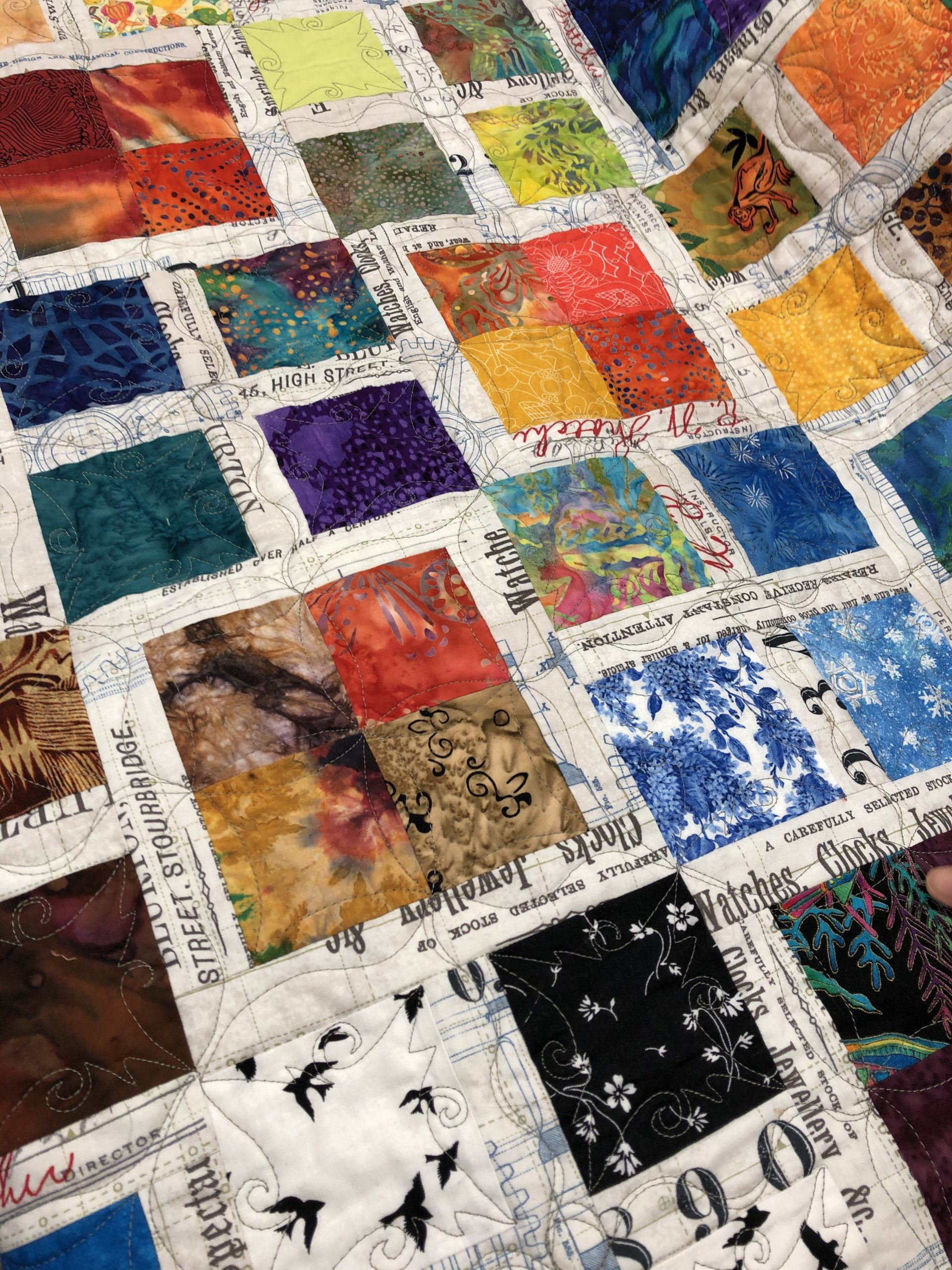 Quilting in the Box with Linda Campbell