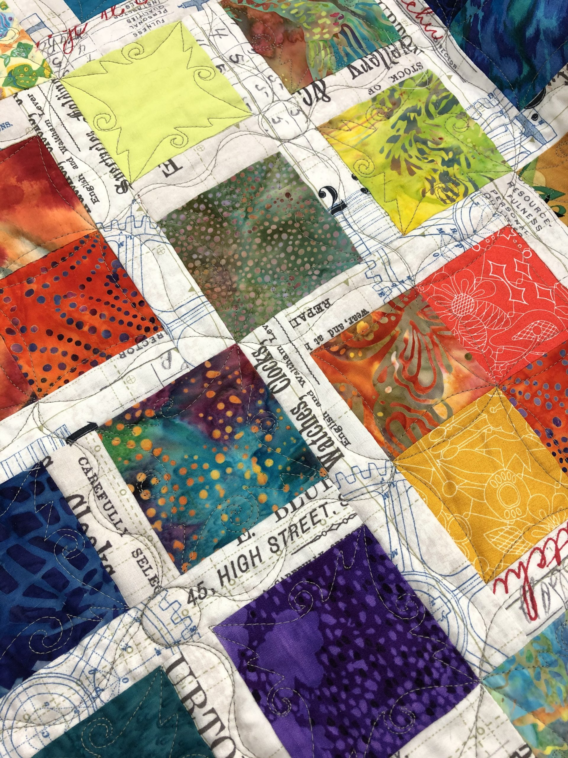Scrappy Squares with Linda Campbell