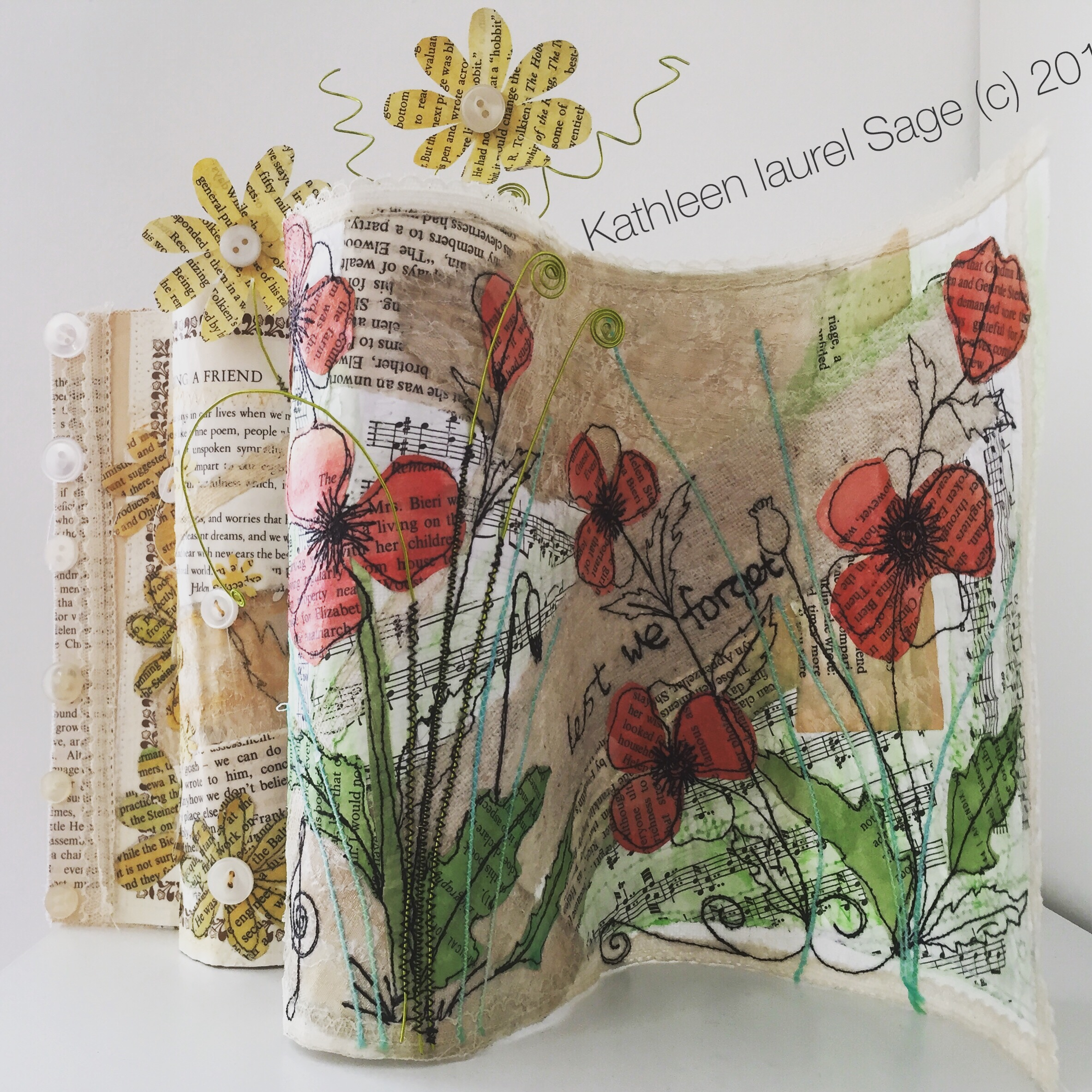 Embroidered Scrolls with Kathleen Laurel Sage